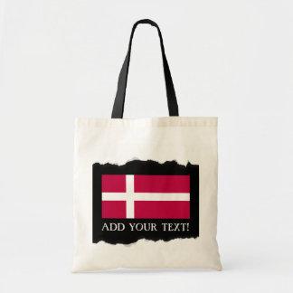デンマークの旗 トートバッグ