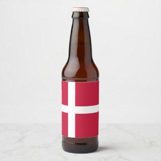 デンマークの旗 ビールラベル