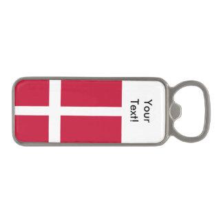 デンマークの旗 マグネット栓抜き