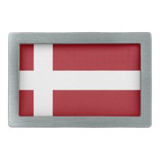デンマークの旗 長方形ベルトバックル
