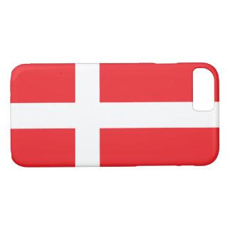 デンマークの旗 iPhone 8/7ケース