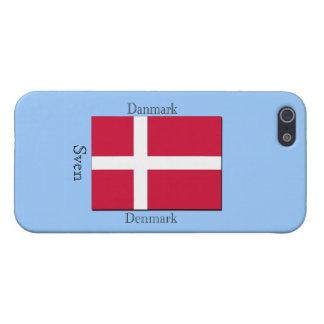 デンマークの旗 iPhone SE/5/5sケース