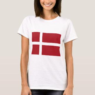 デンマークの旗 Tシャツ