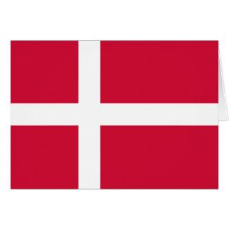 デンマークの旗DK カード