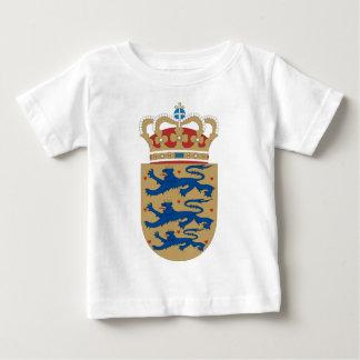 デンマークの紋章付き外衣 ベビーTシャツ