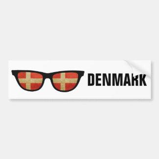 デンマークの陰カスタムな文字及び色のバンパーステッカー バンパーステッカー