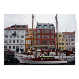 デンマークのnyhavn カード