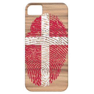 デンマークのtouchの指紋の旗 iPhone SE/5/5s ケース