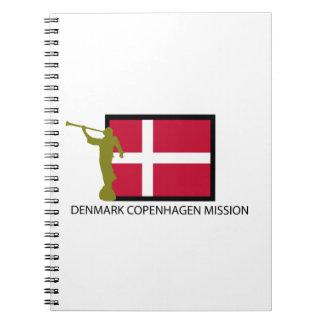 デンマークコペンハーゲンの代表団LDS CTR ノートブック