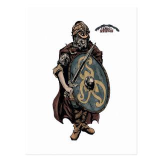 デンマーク人のバイキングの年齢王 ポストカード