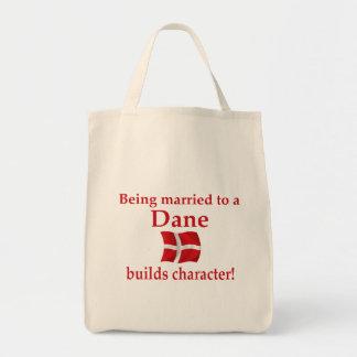 デンマーク人はキャラクターを造ります トートバッグ