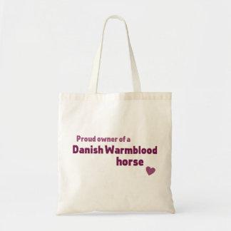 デンマーク語のWarmbloodの馬 トートバッグ