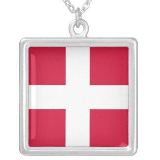 デンマーク シルバープレートネックレス