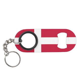 デンマーク-スカンジナビアの十字の旗 キーホルダー ボトルオープナー