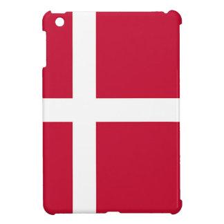 デンマーク-スカンジナビアの十字の旗 iPad MINIケース