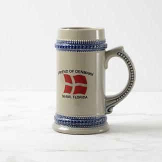 デンマーク-マイアミの友人 ビールジョッキ