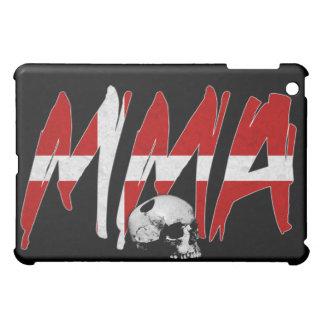 デンマークMMAのスカルの黒のiPadの場合 iPad Mini Case