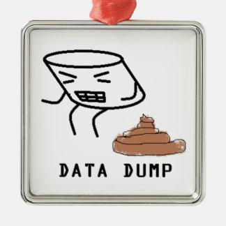 データダンプ メタルオーナメント