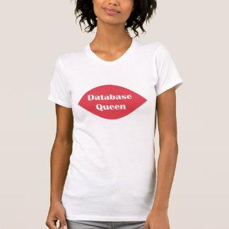 データベースの女王 Tシャツ