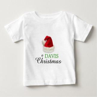 デービスのクリスマス ベビーTシャツ