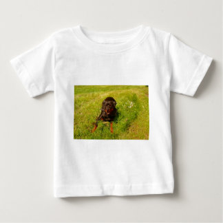 デービスサリバンのウシ ベビーTシャツ