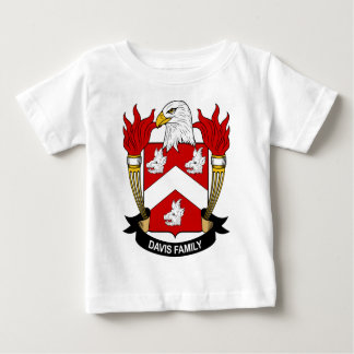 デービス家族IIの紋章付き外衣 ベビーTシャツ