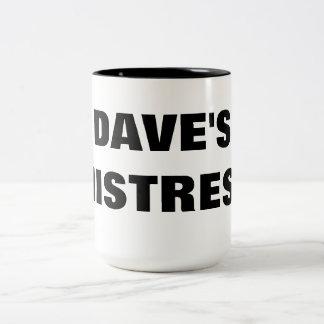 デーブの主婦 ツートーンマグカップ
