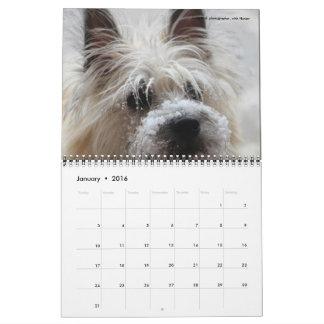 デーブの庭2016のカレンダー カレンダー