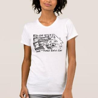 デーブパンクロック猫のステレオタンク Tシャツ