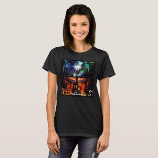 デーブミラー著区域及び軍隊箱ITCの女性のT Tシャツ