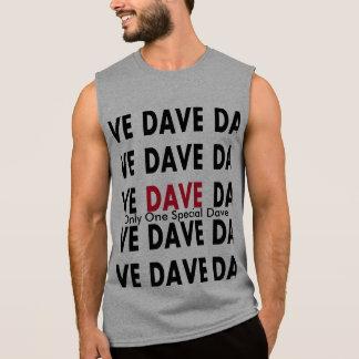 デーブ 袖なしシャツ