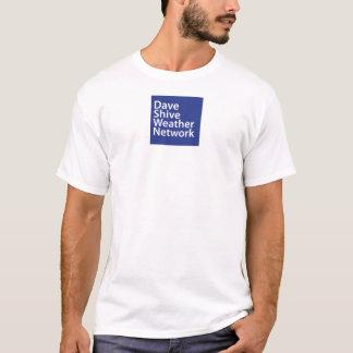 デーブShiveの天候ネットワークのクラシックT Tシャツ