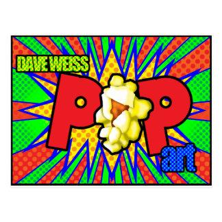 デーブWeissのポップアート ポストカード