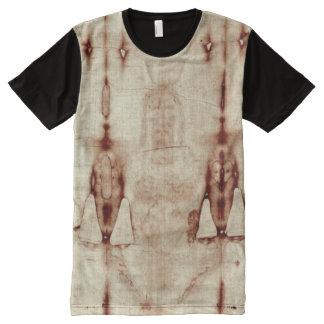 トゥーリンのTシャツの囲い板 オールオーバープリントT シャツ