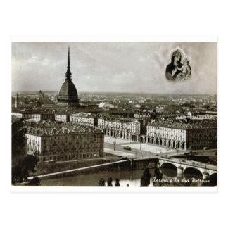 トゥーリン、トリノ、都市眺め ポストカード