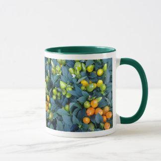 トウガラシの植物 マグカップ