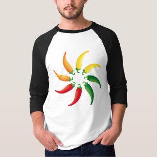 トウガラシのChilis南西Tex Mexのコショウ Tシャツ