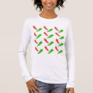 トウガラシ 長袖Tシャツ