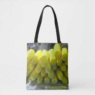トウモロコシが付いているトートバック トートバッグ