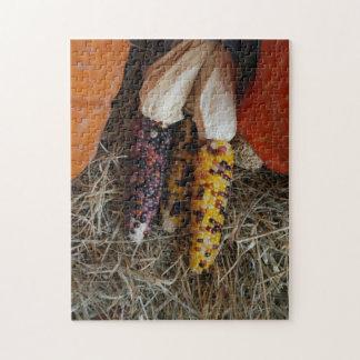 トウモロコシのパズル ジグソーパズル