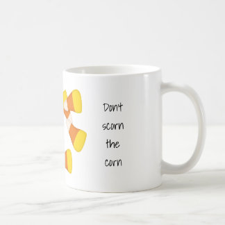 トウモロコシキャンデートウモロコシを軽蔑しないで下さい コーヒーマグカップ