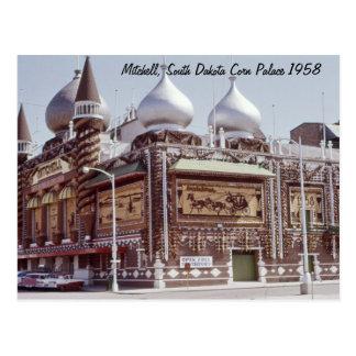 トウモロコシ宮殿のMitchellサウスダコタの郵便はがき ポストカード