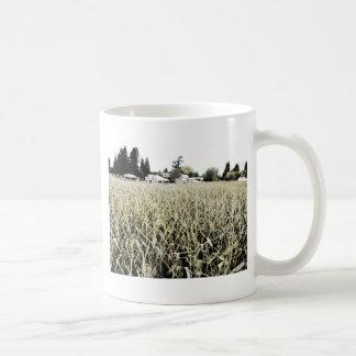 トウモロコシ畑 コーヒーマグカップ