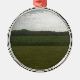 トウモロコシ畑 メタルオーナメント