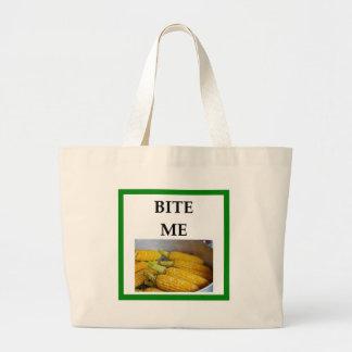 トウモロコシ ラージトートバッグ