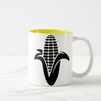 トウモロコシ; 黄色 ツートーンマグカップ