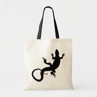 トカゲのトートバックのトカゲの芸術の小さいバッグの買い物袋 トートバッグ