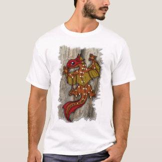 トカゲのドラゴン Tシャツ