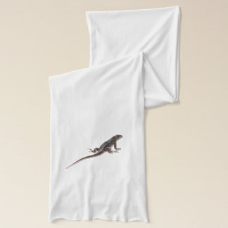 トカゲ スカーフ