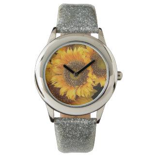 トスカナ式のヒマワリ 腕時計